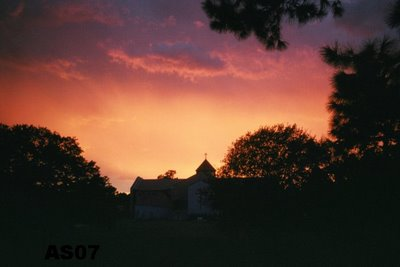 Sunset in Houston, Texas, Summer 2006