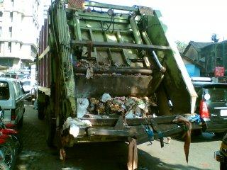 Garbage Truck! Stinks a bit!