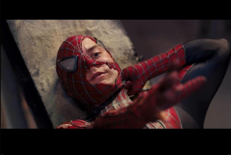 peter parker funny face