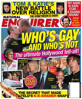 National enquirer whos gay martha stewart 2007