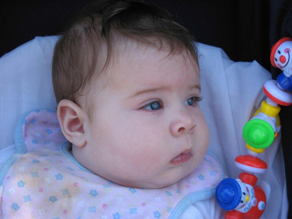 Yuju ya llegué!: Mi Papi dice que soy la bebe mas linda del mundo