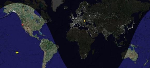 Daylight Map