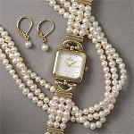 Bargain Shopping Scoop: Croton Pearl Set Fashion jewelry for sassy and chic Women, Teen and Girls