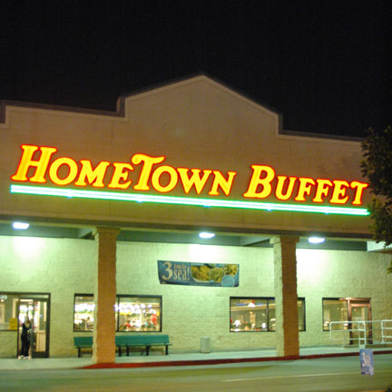 Hometown Buffet is a buffet-style restaurant that serves a variety of choices ranging from starters, meats, pasta, seafood. In addition, the restaurant offers .