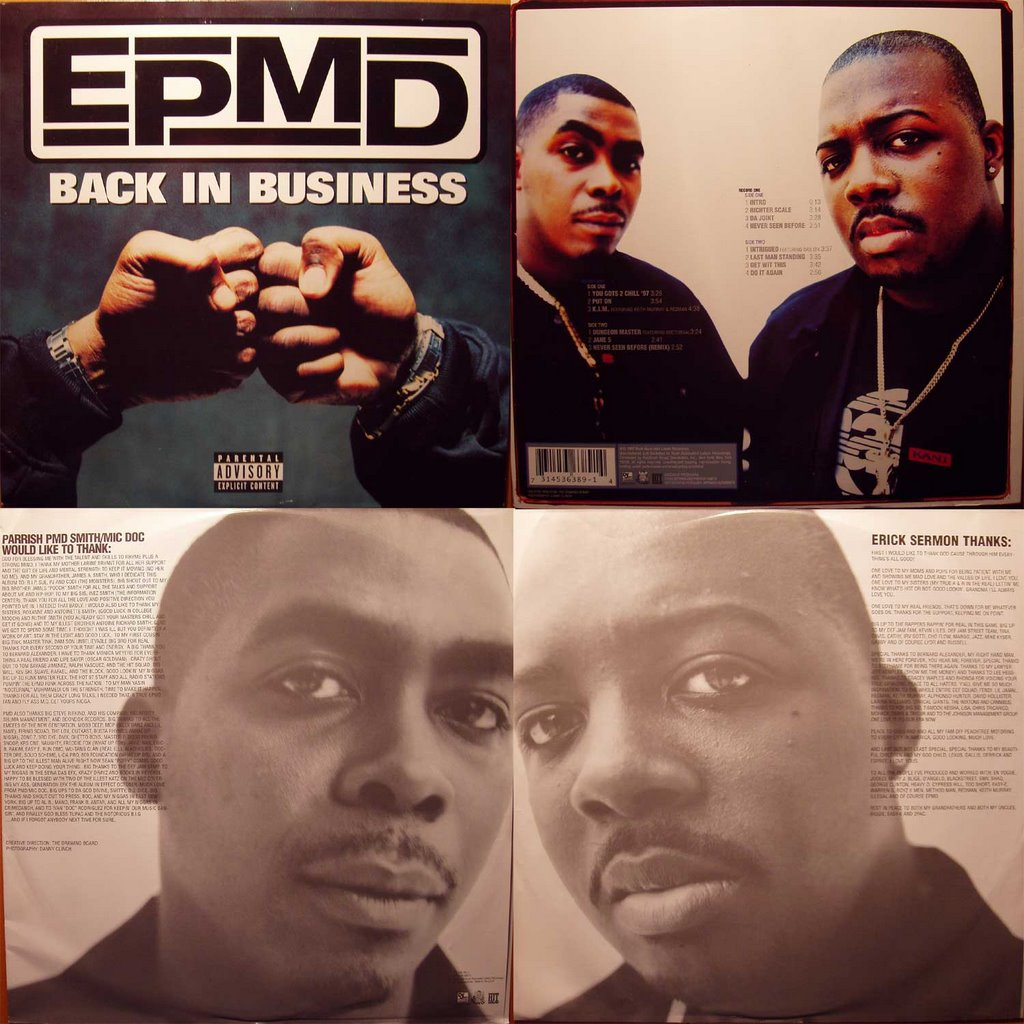 epmd you gots to chill acapella