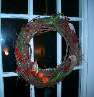 wreath at home