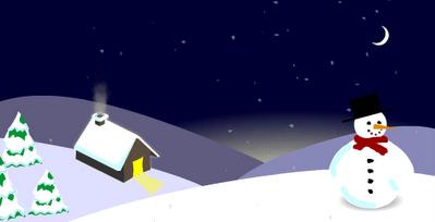 Christmas Card Sneeky-peek