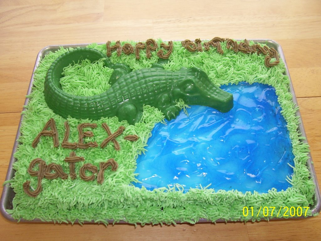 Creative Cakes By Angela Happy Birthday Alex Gator