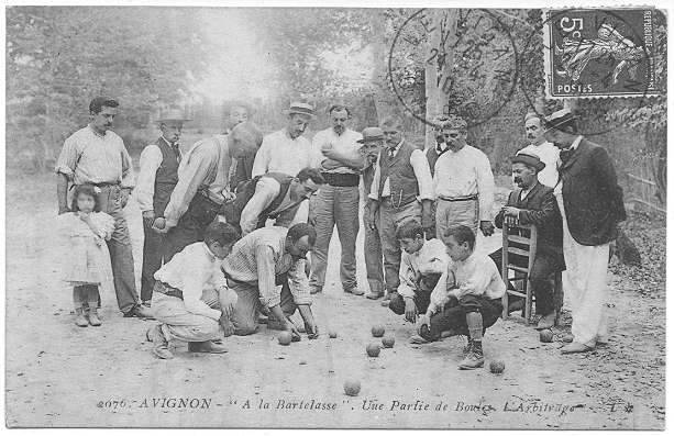 petanque america boules in 1910. Black Bedroom Furniture Sets. Home Design Ideas