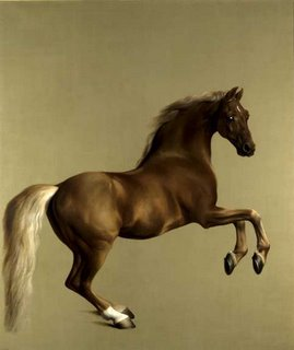 Whitlejacket by Stubbs (iconic painting of a horse)