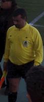 Eugénio, depois de jogador, treinador, surgiu-lhe a oportunidade de arbitrar o próprio clube