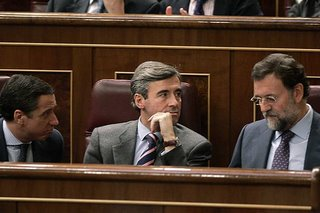 El trío calavera, cuerpo y alma de una oposición tozuda como pocas se han visto en España