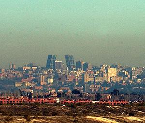 Madrid se encuentra envuelta en una constante burbuja de aire contaminado