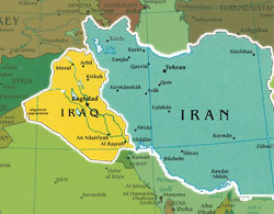in plotting a policy course in iraq how much consideration needs to be given to iran it is very important to take into consideration but in doing so it is