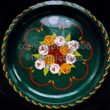 Naj's Canal Folk Art - Hand Painted Plate