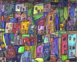Click to See - Painted Houses, by Artist, Maeve Wright