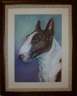 Pet Portrait Painting by Naj