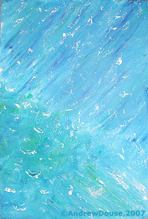 Monsoon, Original Painting by Andrew Douse!