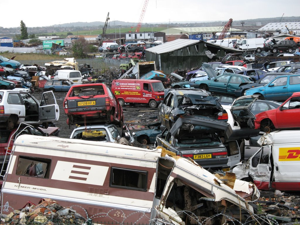 Car Dismantlers Near Wolverhampton