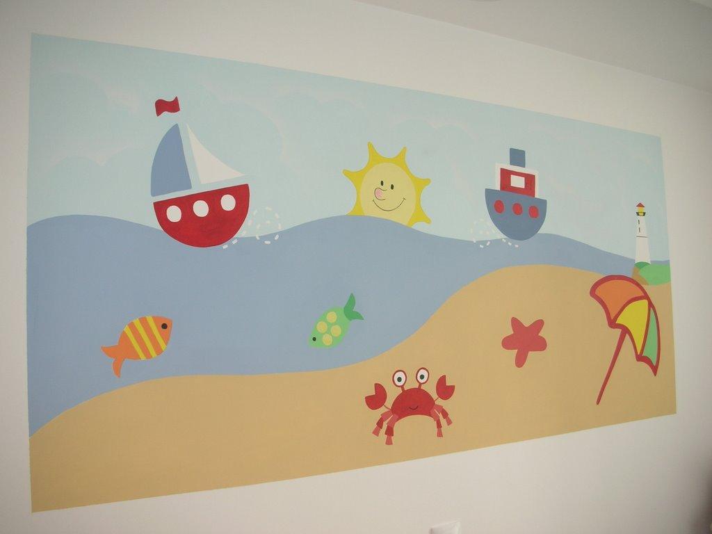 Muralitos - Murales infantiles pintados a mano ...