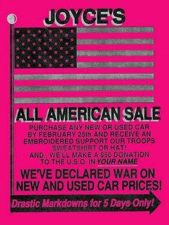 All American Sale