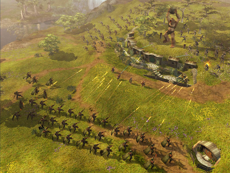 Lord Of The Rings Battle For Middle Earth Skirmish Gameplay
