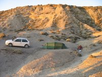 Peninsula Valdes: Unser Camp