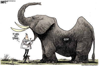 spineless gop
