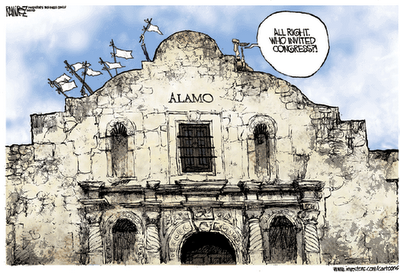 congress at the alamo