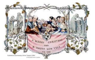 World's first Xmas card-London, 1843