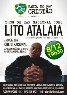 BRC apresenta: Lito Atalaia