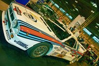 The famous Martini Lancia of the 1980s which destroyed all comers in the WRC!