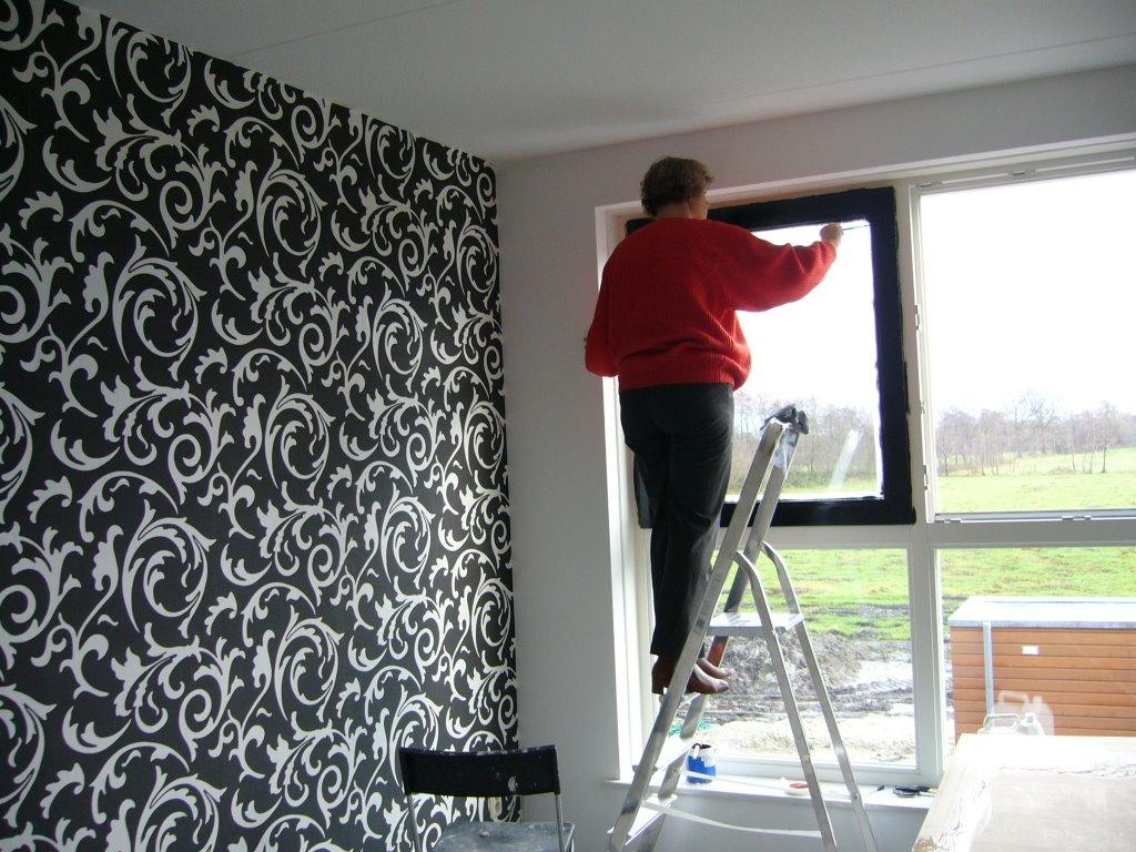 woonkamer behangen of schilderen ~ lactate for ., Deco ideeën