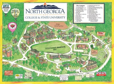 ung campus map with 2007 01 01 Archive on 2017 moreover Northern Georgia Northern Georgia U as well Georgia State C us moreover About furthermore Maps Directions.