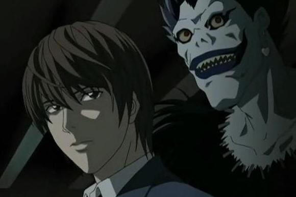 Death Gods Death Note Death Note With Death God