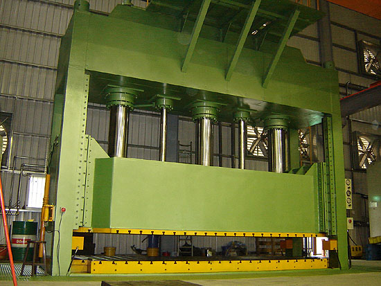 750 ton hydraulic press