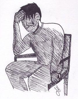 stressed & depressed