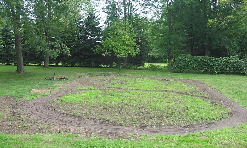 building backyard pump track 262006 the pump track starts to take