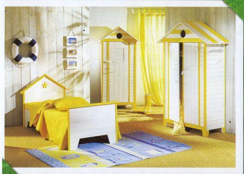 wassilamaison: Chambre à coucher enfant rouge orange et jaune