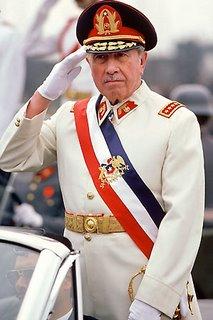 Ex dictador chileno AUGUSTO PINOCHET (1915 - 2006)