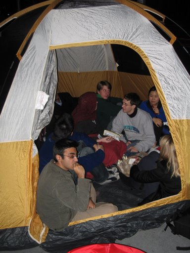 We manage to fit 14 people into an 8-person tent. It was warm it was cozy and it felt something you would do in college -- like so many other things we do ...  sc 1 st  Official Google Mac Blog & Official Google Mac Blog: Macworld keynote campout