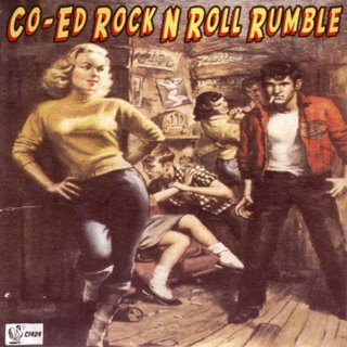 Co-Ed Rock N Roll Rumble Front