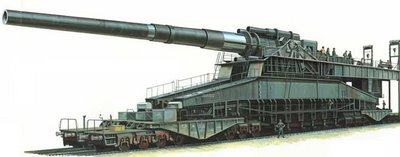 The Largest gun ever used in combat