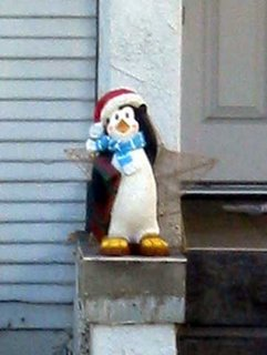 A Christmas Penguin