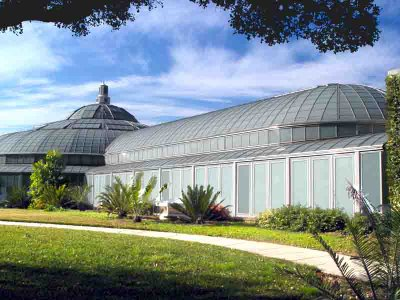 the new conservatory at Huntington Gardens in Pasadena CA