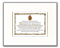 Winter Decorative Art Print
