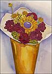 Flower Pail Art Print