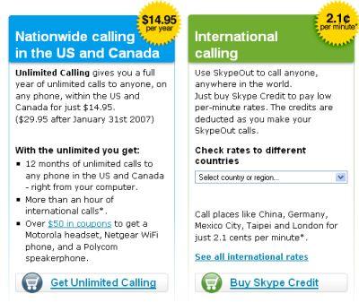 Skype belplan