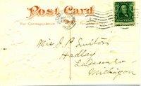 postcard address side
