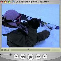 Snowboarding with Suzi